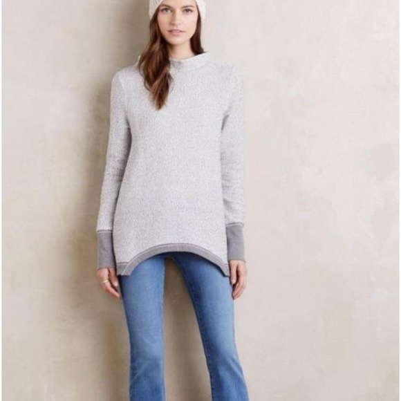 Anthropologie Sweaters - Anthropologie Postmark Inari Pullover in Gray